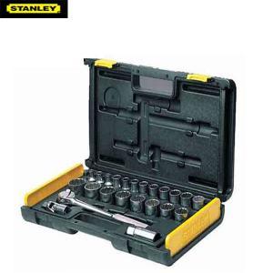 """Bộ khẩu hệ 1/2"""" 12 cạnh 27 chi tiết 10-32mm Stanley 86-477"""