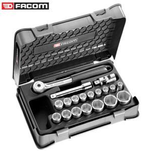 """Bộ khẩu hệ 1/2"""" 6 cạnh 19 chi tiết Facom S.151-2P6"""